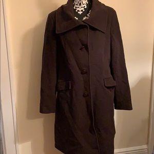 DKNY Wool Coat Sz 14